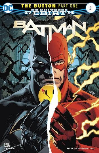 Batman The Button Flashpoint
