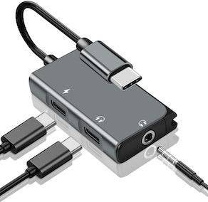 Mxcudu 3-in-1 Audio Adapter