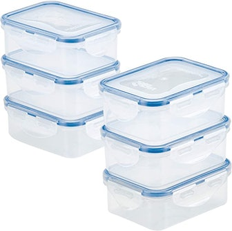 LOCK & LOCK Easy Essentials Container Food Storage Bins (6-Pack)