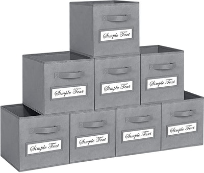 TomCare Foldable Storage Cubes (8-Pack)
