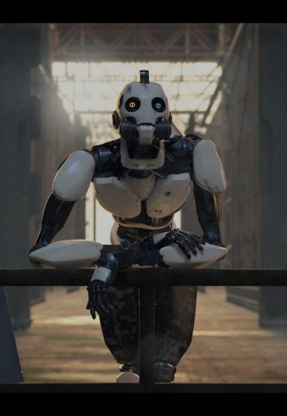 screenshot from love death and robots netflix series