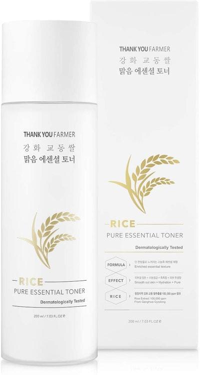 ThankYou Farmer Rice Pure Essential Toner (7.03 Oz)