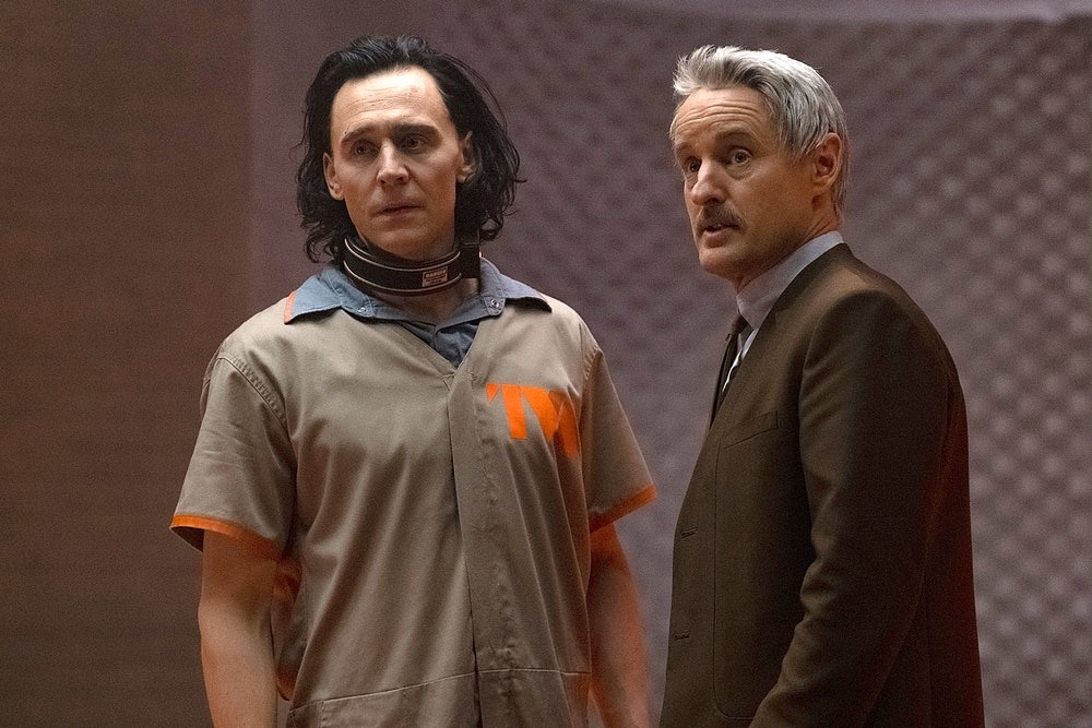 Owen Wilson and Tom Hiddleston in Loki.