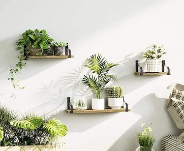 Love-KANKEI Floating Shelves Wall Mounted (Set of 3)