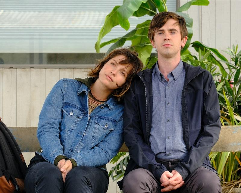 Shaun and Lea on The Good Doctor via the ABC press site