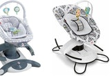 Fisher-Price has recalled its 4-in-1 Rock 'n Glide Soothers and 2-in-1 Soothe 'n Play Gliders.