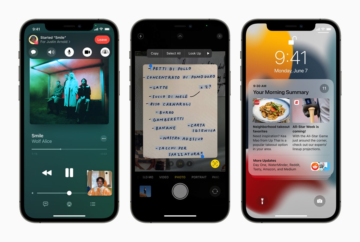 Apple's iOS 15 update is compatible with older iPhones, but there's a catch.
