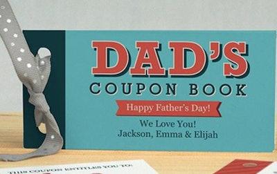 GiftsforYouNow Dad's Coupon Book