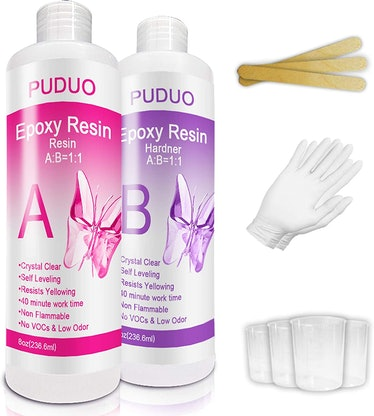 Epoxy Resin Crystal Clear Kit