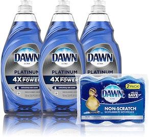 Dawn Dish Soap Platinum Dishwashing Liquid (5 Pieces)