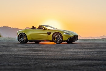 You can't separate the iconic British spy from the iconic British sports car, and that's just how Aston likes it, thank you very much. It's the greatest marketing tie-up in history.