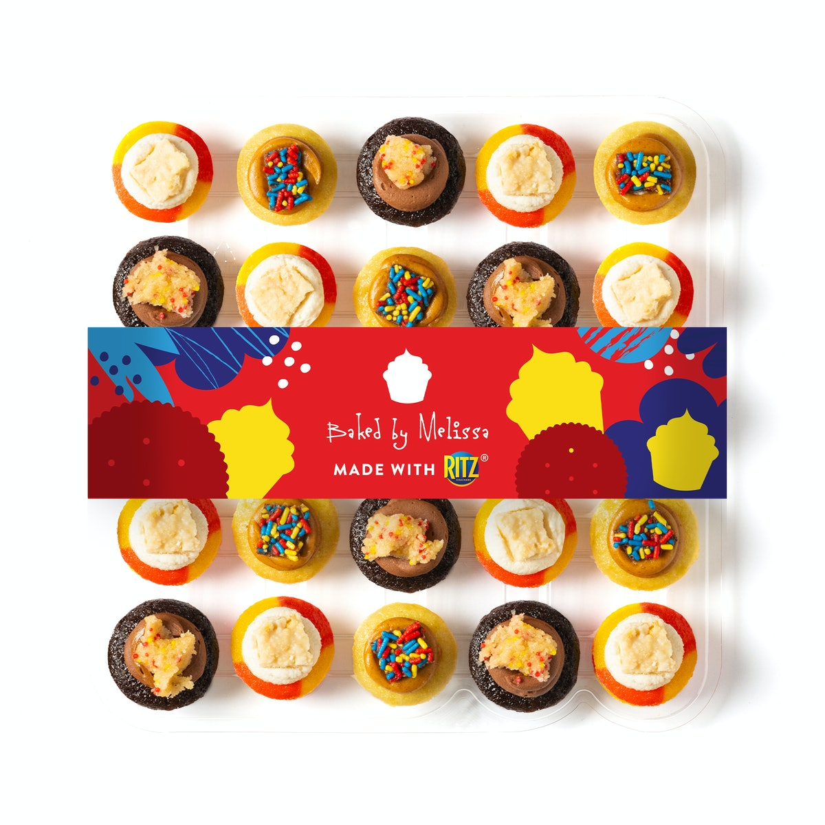 This Baked By Melissa and Ritz Crackers collaboration is a sweet and salty treat.