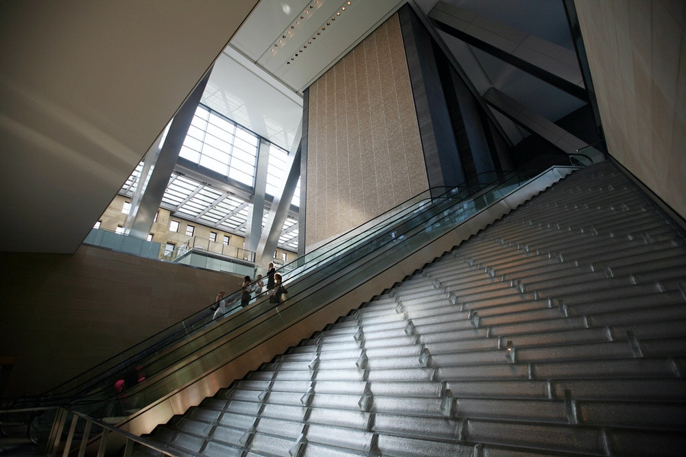 Hearst Tower inside architecture
