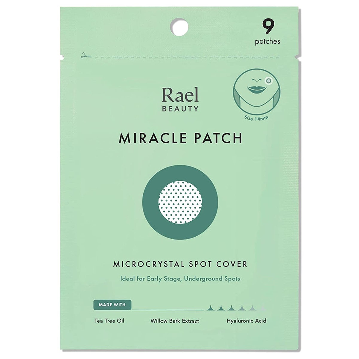 Rael Microneedle Acne Healing Patch (9 Count)
