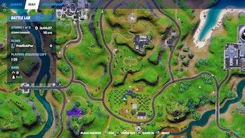 fortnite alien artifact location 5 map