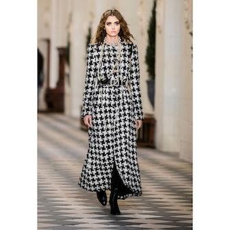Wool Tweed Coatt