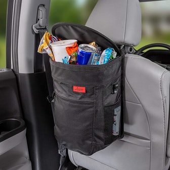 Lusso Gear Spill-Proof Car Trash Can (2.5 Gallon)
