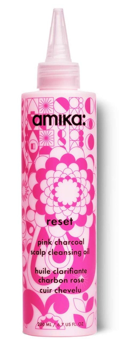 amika Pink Charcoal Scalp Cleansing Oil