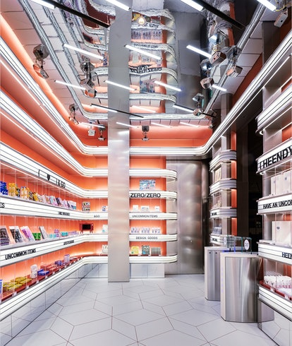 Rendering of the cashierless Uncommon Store in Seoul South Korea. Shopping. Retail. Amazon Go.