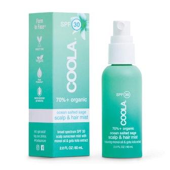 COOLA Organic Scalp Spray & Hair Sunscreen Mist