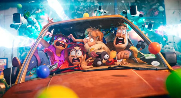 'The Mitchells vs. The Machines' features the voice talents of Abbi Jacobson, Maya Rudolph, and Oliv...