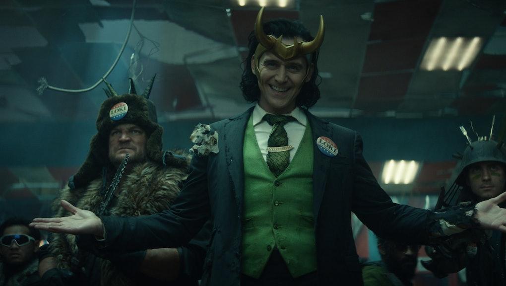 Loki (Tom Hiddleston) in Marvel Studios' LOKI, exclusively on Disney+.