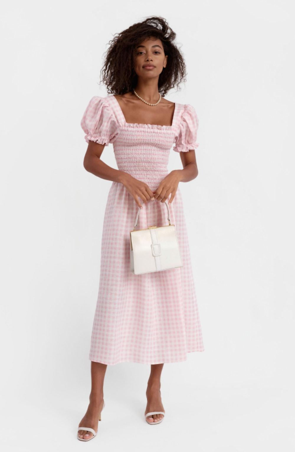 Belle Linen Dress