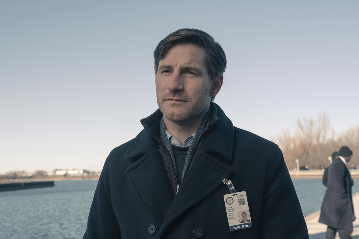 Sam Jaeger as Mark Tuello, who just made an enemy of June by giving Fred his freedom on 'The Handmaid's Tale'