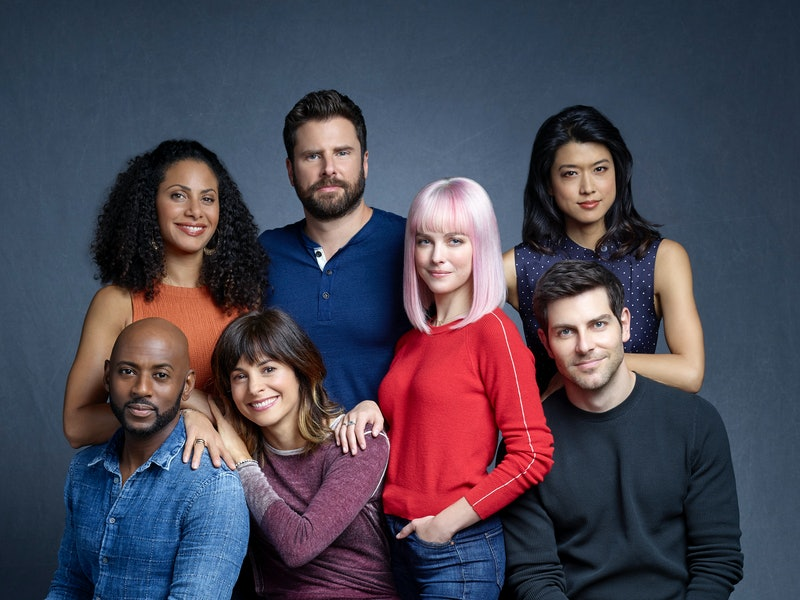 The cast of A Million Little Things via the ABC press site