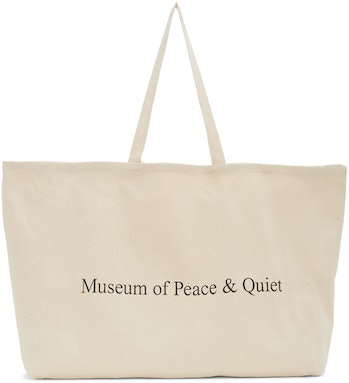 Museum of Peace and Quiet 'MoPQ' Tote