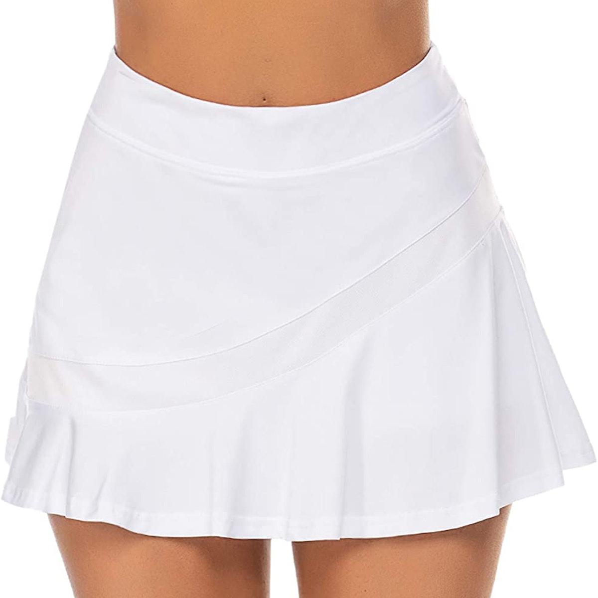 Ekouaer Tennis Sport Skirt