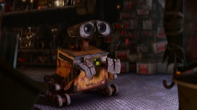 Science Fiction family movie 'Wall-E' is about robots saving humanity.