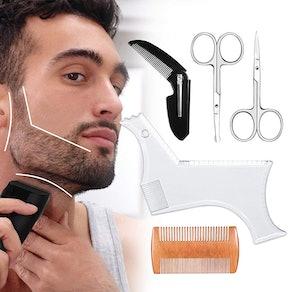 Bamoer Beard Beard Shaping Template & Guide Tool