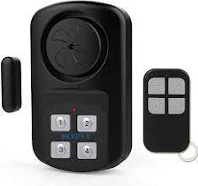 HENDUN Outdoor Door Alarm with Remote Keypad