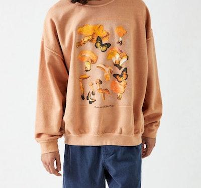 Cycle of Fungi Crew Neck Sweatshirt