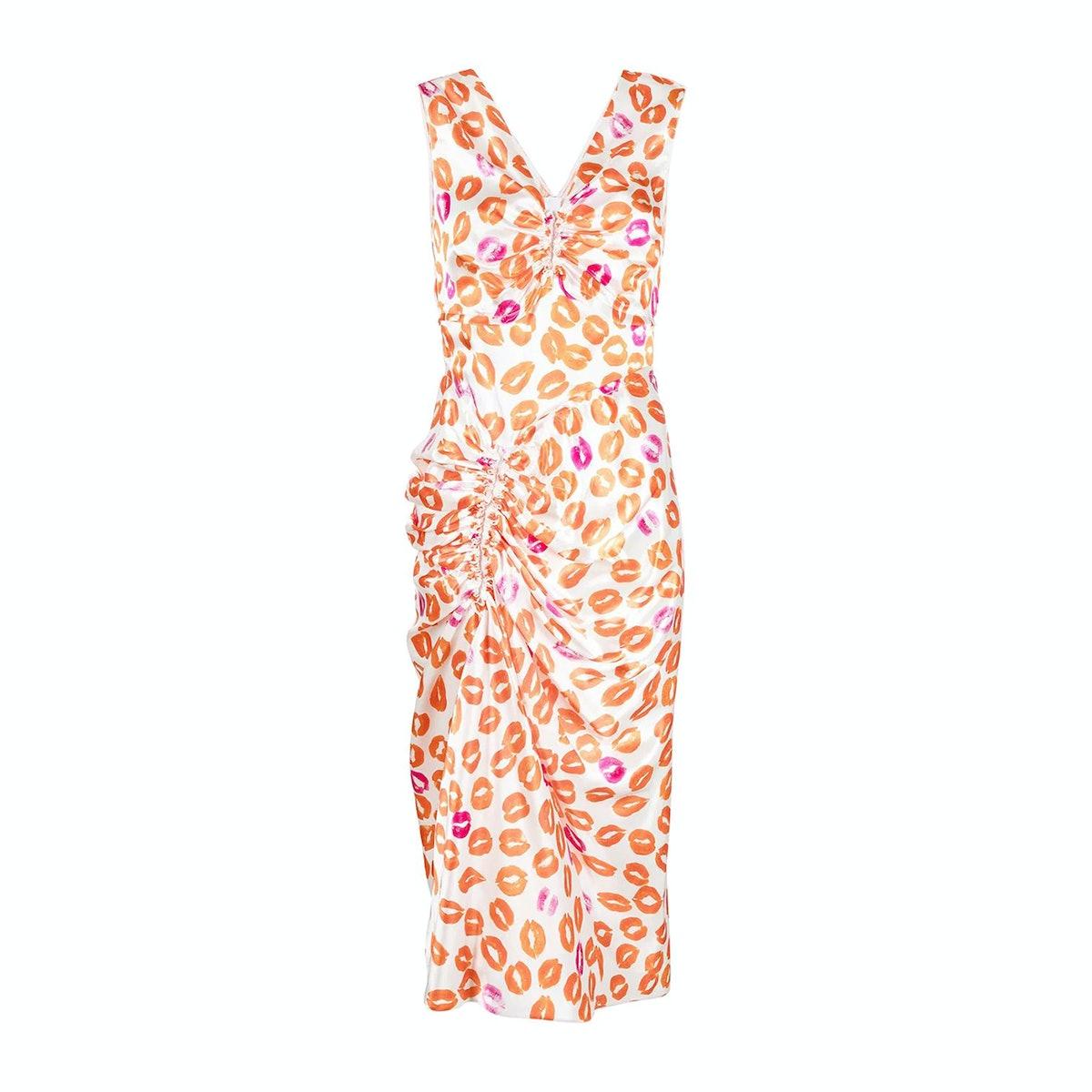 Marni Kiss Tornado Printed Dress