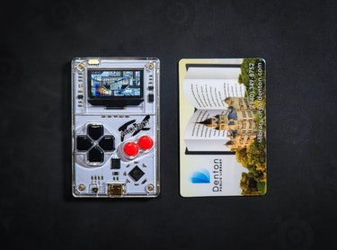 Arduboy FX review: The size of a credit card.