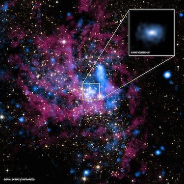 sagitarrius a supermassive black hole