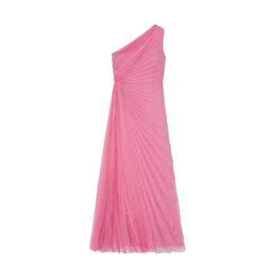Gucci Pink Silk Bloom Dress