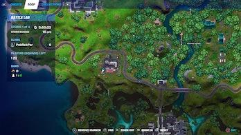 fortnite alien artifact location 3 map
