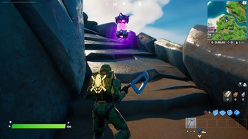 fortnite alien artifact location 4 gameplay