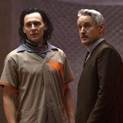 Tom Hiddleston's Loki breaks the laws of time in his Disney+ series.