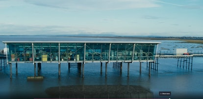 The pier in 'Time' on BBC One