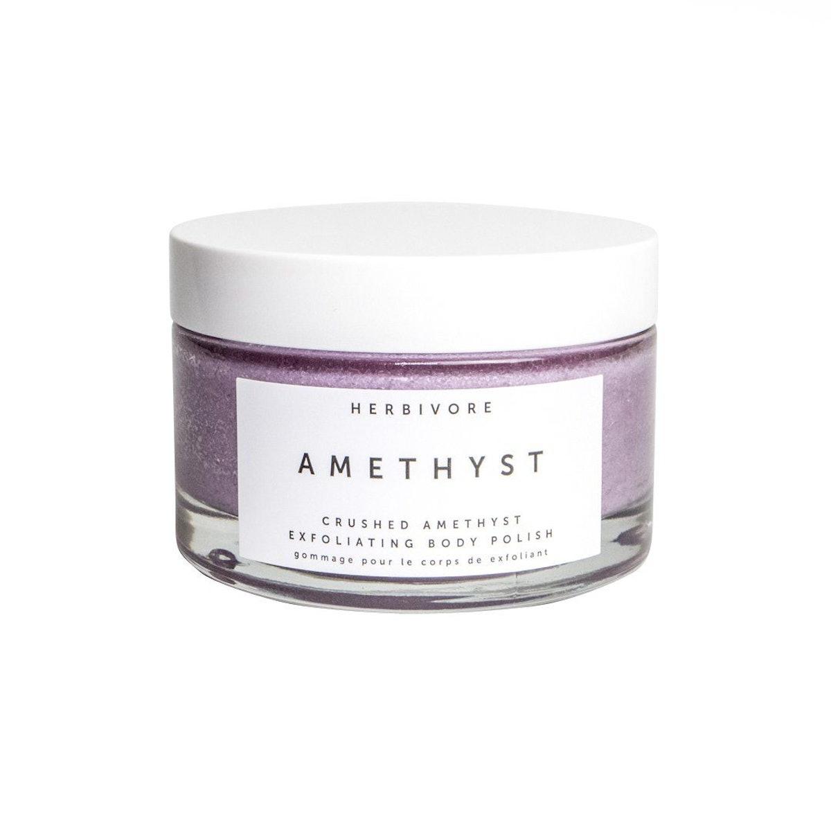 Amethyst Body Scrub with Epsom Salt