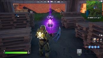 fortnite alien artifact location  3 gameplay