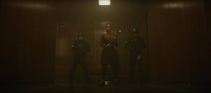 Gugu Mbatha-Raw stars as Judge Ravonna Renslayer in 'Loki.' Photo via Marvel