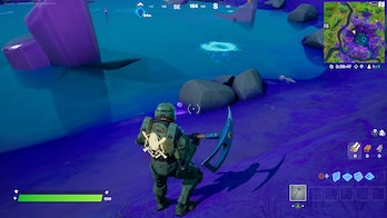 fortnite collect stone aftermath