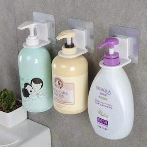 Shower Gel Bottle Rack Hook (3-Pack)