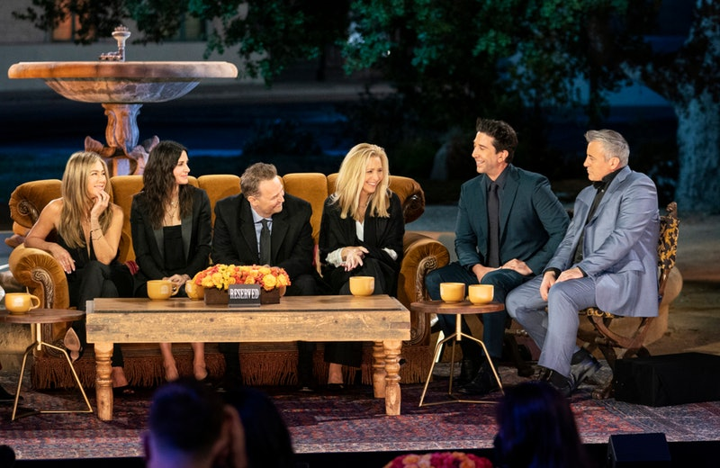 The 'Friends' cast during HBO Max's reunion special.