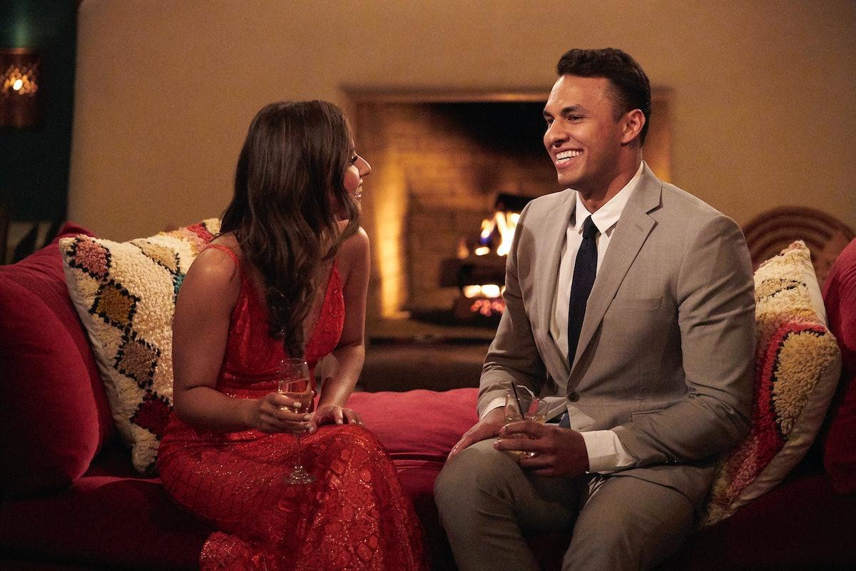 Katie Thurston and Aaron on 'The Bachelorette' Season 17.